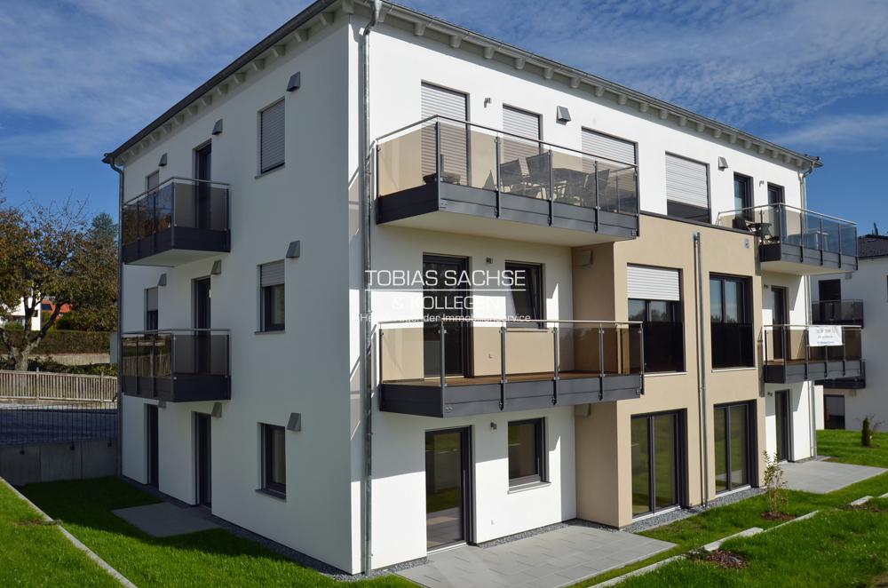 Moderne 3-Zimmer- Neubauwohnung mit Küche, 2 Balkonen & Aufzug – gute Infrastruktur gegeben 94104 Tittling, Wohnung