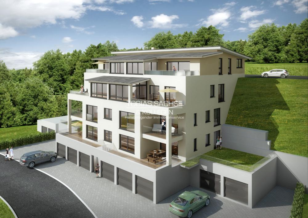 **Panoramablick trifft modernes und altersgerechtes Wohnen** 94099 Ruhstorf an der Rott, Etagenwohnung