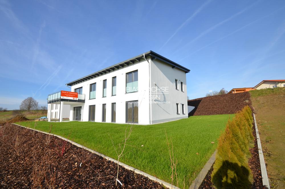 Komfortables Wohnen auf einer Ebene (EG): Lichtdurchflutete 4-Zimmer-Neubauwohnung m. eigenem Garten 94474 Vilshofen / Albersdorf, Wohnung