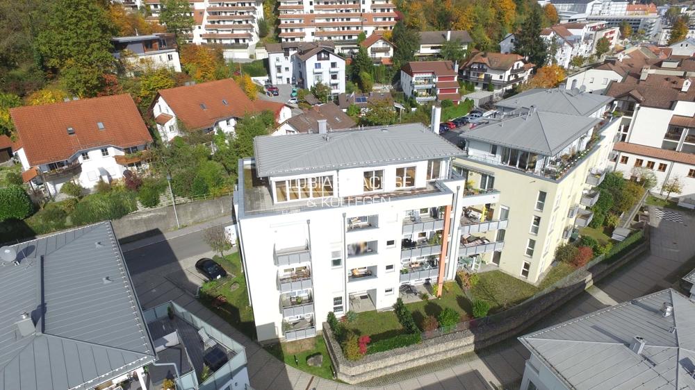 3-Zimmer-Wohntraum – Schönes Penthouse mit herrlichem Panorama, direktem Liftzugang und 2 TG-Plätzen 94036 Passau / Haidenhof, Penthousewohnung