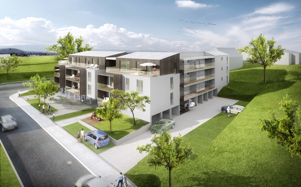 2-Zimmer-Neubauwohnung zur Kapitalanlage oder Eigennutzung in zentraler Lage – Aufzug vorhanden 94154 Neukirchen vorm Wald, Wohnung
