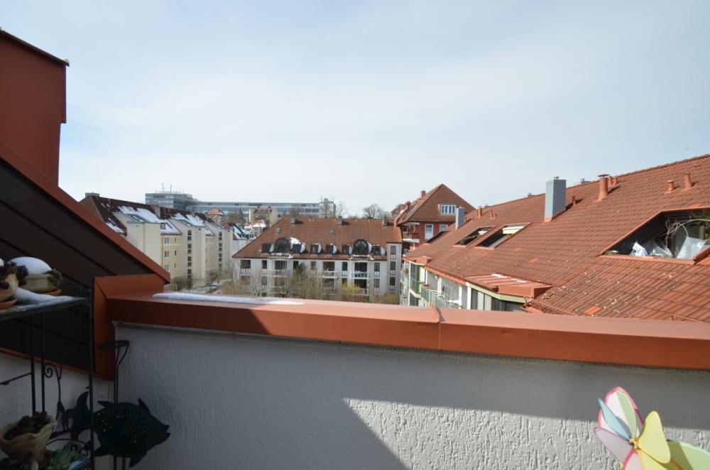 Wohntraum – Mansardenwohnung mit 2 Dachterrassen im gepflegten Mehrfamilienhaus – begehrte Lage 81379 München / Thalkirchen, Dachgeschosswohnung